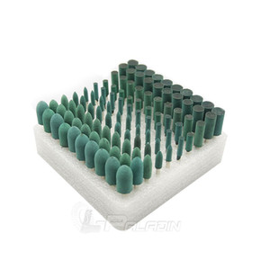 Резина смонтирована точка абразивных Dremel вращающихся инструмент аксессуары 100 шт / коробка ассорти