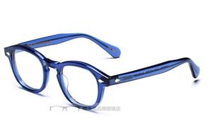 Nueva llegada de la marca de alta calidad Johnny Depp unisex marco óptico anteojos gafas marcos gafas graduadas