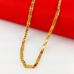سريع شحن مجاني غرامة مجوهرات الذهب الأصفر 18 كيلو شغل قلادة قلادة ، قلادة المرأة ، مجوهرات الزفاف