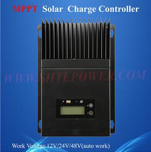 mppt kontrol 60a ce rohs solar şarj regülatörü 12 v 24 v 48 v otomatik çalışma gerilimi ile lcd