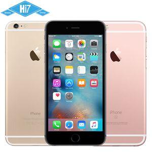 Garantili% 100% Orijinal Apple iPhone 6 S Mobilephone IOS 9 Çift Çekirdekli 2 GB RAM 16 GB 64 GB 128 GB ROM 4.7''12MP Kamera yenilenmiş Cep Telefonu