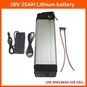 Heißer verkauf 1000 Watt Bodenentladung 36 V 25AH Elektrische Fahrrad lithium-batterie Verwenden 3500 MAH 35E zelle mit 30A BMS 42 V 2A ladegerät