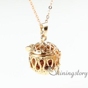 Difusor openwork colares atacado colar de óleo essencial jóias essenciais atacado difusor colar de jóias scents colar difusor