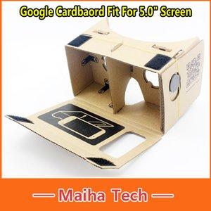 """Per 5.0 """"Schermo Google Google Cartone Virtual Reality VR Cellulare Occhiali 3D Occhiali Google VR 3D"""