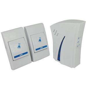 9510FD2 беспроводной пульт дистанционного управления цифровой дверной звонок 150 метров 32 музыка дверной звонок Дверной звонок 1 приемники 2 излучатель