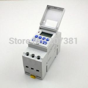 도매 무료 배송 DIN RAIL DIGITAL PROGRAMMABLE 220VAC 16A 타이머 스위치 릴레이 시간 15A ~