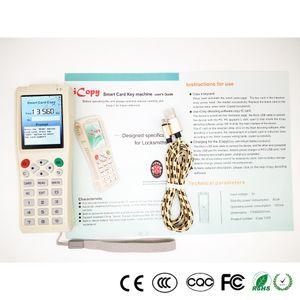 Máquina de chave de nova chegada iCopy 3 iCopy5 com função de decodificação completa Smart Key máquina chave RFID NFC copiadora IC / ID Reader / escritor duplicador