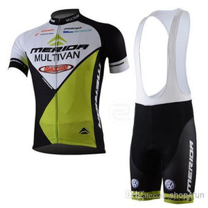 Yenilik bisiklet formaları İngiltere Bisiklet Suit MERIDA Takım Bisiklet jersey bisiklet giyim + kısa Önlük Pantolon yeni zelanda bisiklet jersey C00S