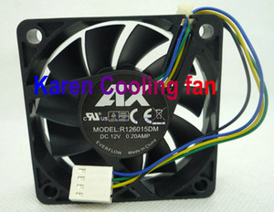 6 CM R126015DM 0,2A kf0615h1hk-r 6015 12 v 2,3 watt 4 kabel lüfter