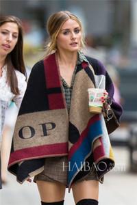 Мода шерсть зима шарф женщины шарф смешанные цвета плед толстые бренд Шали и шарфы для женщин