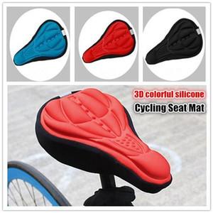 Vélo Vélo Selles 3D Confortable Gel de Silicone Housse de Siège Coussin Souple Vélo Pad Vélo De Montagne Pièces Acessoires