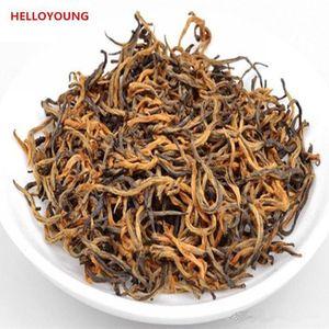 Tercih 250g Çin Organik Siyah Çay Dökme Jinjunmei Kırmızı Çay Sağlık Yeni Çay Sağlıklı Yeşil Gıda Pişmiş