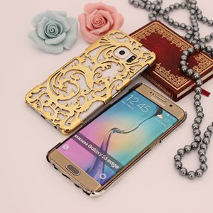 S6 slim Samsung phone shell S6 edge cooling hollow golden G9200 plating cell phone protective cover