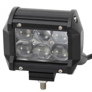 """2pcs 4 """"오스람 LED 바 30W 4 인치 LED 라이트 바 트럭 SUV 지프 ATV 오프로드 4x4 12V 24V 스팟 홍수 6X5W 오스람 LED 작업등 60W 120W 180W"""