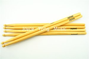 New 3 Pairs of Wood Tip Drum Sticks 5A Drumsticks Free Shipping