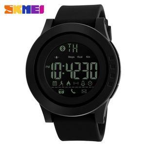 SKMEI 2019 men and women universal smart watch calorie multi-function remote control camera 50M waterproof digital men's SmartWatch Rel