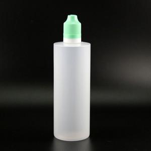 120ML مزدوجة والدليل على زجاجات البلاستيك القطارة 100 قطع مع العبث والدليل الآمن الطفل والدليل الآمن قبعات بخار زجاجات الضغط