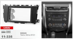 CARAV 11-335 top quality CAR fascia facia panel frame for NISSAN Teana, Altima 2012+ Stereo Fascia Dash CD Trim Installation Kit