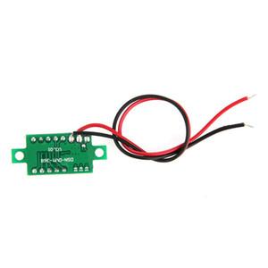 Оптово-1шт метр мини красный светодиод панели Voltage 3-цифровой регулировки Вольтметр Новые