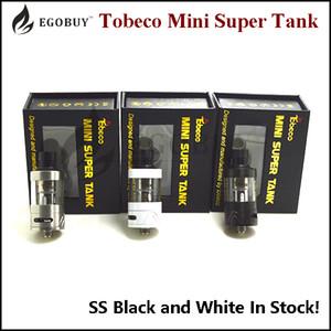 100% первоначально Tobeco мини супер танк Atomzier сс черный белый замена BVC катушек supertank против Inano tfv8 микро-tfv4 арктические v8 ребенка protank