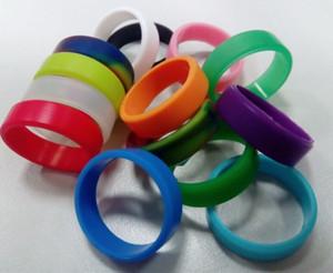 2015 nuevo silicio vape band vape band / wide band rubber ring, debossed, gofrado, impresión, logotipo personalizado gratuito en la banda