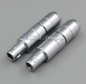 Новый 5 мм/3 мм Диаметр мужской разъем для наушников DIY наушники булавки для Sennheiser HD800