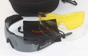 BOLLE 11840 Erkekler Kadınlar UV400 Gözlük Açık Spor Dağ MTB Gözlük Güneş Gözlüğü Gözlük Oculos Ciclismo