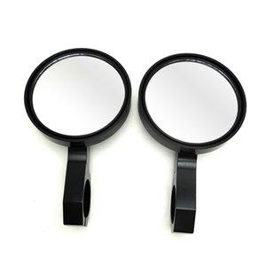 """All'ingrosso 4.7"""" Vista posteriore rotonda Billet Side Mirrors 2"""" del morsetto per Can Am Commander Maverick per Polaris RZR XP1000 RZR900 XP 4 UTV"""