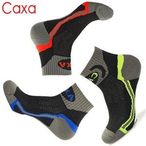 Venta al por mayor-2015 de invierno al aire libre marca calcetines Coolmax transpirable acelera seco para hombre senderismo camping montañismo calcetines térmicos de la UE 40-44
