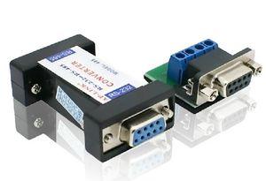 50 takım / grup RS232 RS485 Pasif Arabirim Dönüştürücü Adaptörü Veri İletişimi Seri