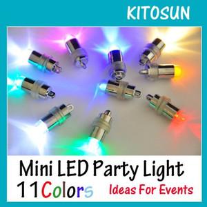 Atacado-10 À Prova D 'Água LED Mini Luzes Do Partido Para Lanternas Balões Floral Mini Luzes Led Para Peça Central Do Casamento KIT E ...