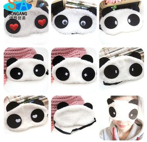 Carino stili cinesi panda Eye Patch 7 stili mescolare creativo e nuovi animali cartoon blender panda eyeshade