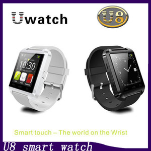 Alta qualità U8 Bluetooth Smart Watch U Orologi da polso Smartwatch per iPhone 4 4S 5 5S Samsung S4 S5 HTC Android Phone Smartphones