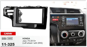 CARAV 11-325 Car Radio Facia Fascia frame frame for HONDA Fit، Jazz (Left Wheel / with SRS) Fascia Dash CD Trim Kit Kit