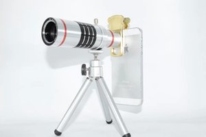 Pratico Cat Clip 18x Telescopio ottico Teleobiettivo mobile con treppiede per Samsung Universal 18x Obiettivo della fotocamera con scatola al minuto