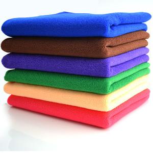 Microfiber Car Cleaning Towels Car Wash Cloth Hand Towel Microfiber Towel Car Dry Pad Dishcloth Bathroom Clean Towels Hair Dry Towels
