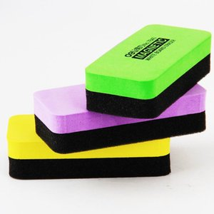 Alta calidad magnética del tablero blanco borradores de borrado en seco Marcador Limpiador escuela de la oficina Pizarra