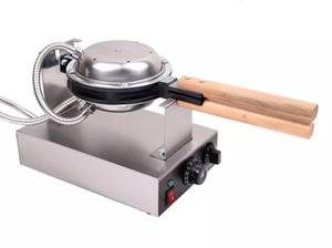 Avec la certification CE 1.4KW 220v 110v HongKong Egg gaufriers machine Egg Puffs Maker Bubble Machine Waffle Acheter sans obtenir 6 plus de cadeaux