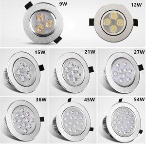 Recesso Downlight 3W 4W 5W 7W 9W * 3W LED teto luz lasca desembolsar quente painel branco fresco AC85-265V sportlight branca downlight luz interior