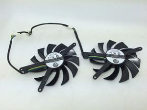 Frete Grátis Novo Original EVGA GTX560TI dual fan placa gráfica suporte do ventilador pé versão longa PLD08010S12HH