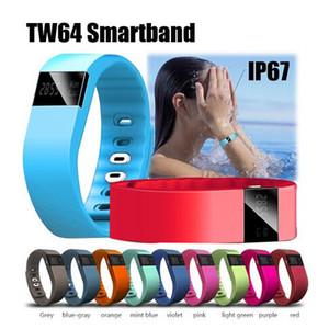 TW64 Akin Fitbit Flex Pulsera Bluetooth inteligente a prueba de agua Anti perdida pulsera Recordatorio remoto reloj de la fotografía para IOS Android OME-TW64