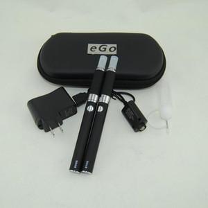 eGo evod mt3 cigarro eletrônico E Cig duplo starter kit MT3 vaporizador atomizador Clearomizer Ecigs evod bateria duplo zíper caso kits