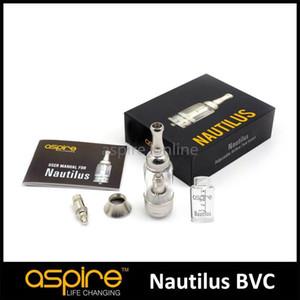 100% autentico Aspire Nautilus serbatoio 5ml Atomizzatore regolabile flusso d'aria Clearomizer Aspire Nautilus Mini serbatoio 2ml Aspire serbatoio Clearomizer