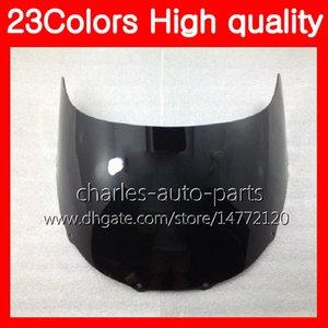Parabrezza moto 100% nuovo per YAMAHA TZR-250 TZR 250 92 93 94 95 96 97 TZR250 1992 1993 1994 1997 Parabrezza trasparente cromato nero