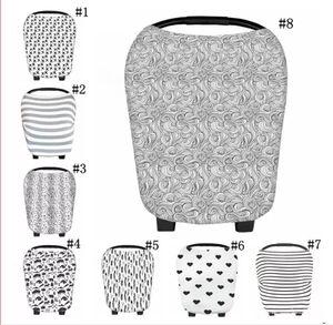 copertura di cura copertura calda Multi-Use elastico cotone bambino di cura allattamento al seno sulla copertina Sciarpa Coperta banda Infinity Sciarpa Baby Car Seat