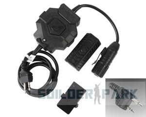 Radyo Kulaklık için Z-Taktik Kablosuz Midland Sürüm Pimleri PTT Adaptörü