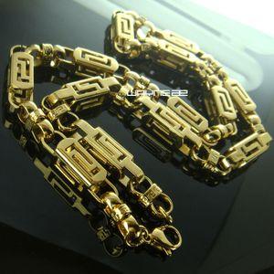 n292-8MM Ширина обочины цепи из нержавеющей стали ожерелье Link кубинский Коренастый цепь