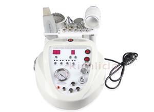 5 in1 máquina DIAMOND MICRODERMABRASION DERMABRASION PEEL Photon do purificador da pele ultra-som máquina de beleza facial para uso doméstico