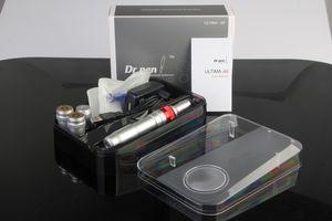 Microneedling терапия Электрический Microneedle Derma Pen Перезаряжаемый Dr перо Ultima A6 Dr.pen Anti Aging с 50 частей свободной головки иглы