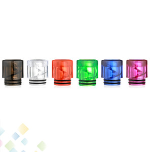 810 Spiral Drip Tip Colorful 810 elicoidale a spirale Drip Consigli di alta qualità sigaretta elettronica del flusso d'aria Bocchino Ecig DHL